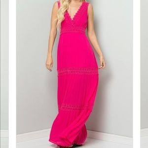 fef669ca41 ... Crochet Lace Woven Maxi Dress (coming soon) ...